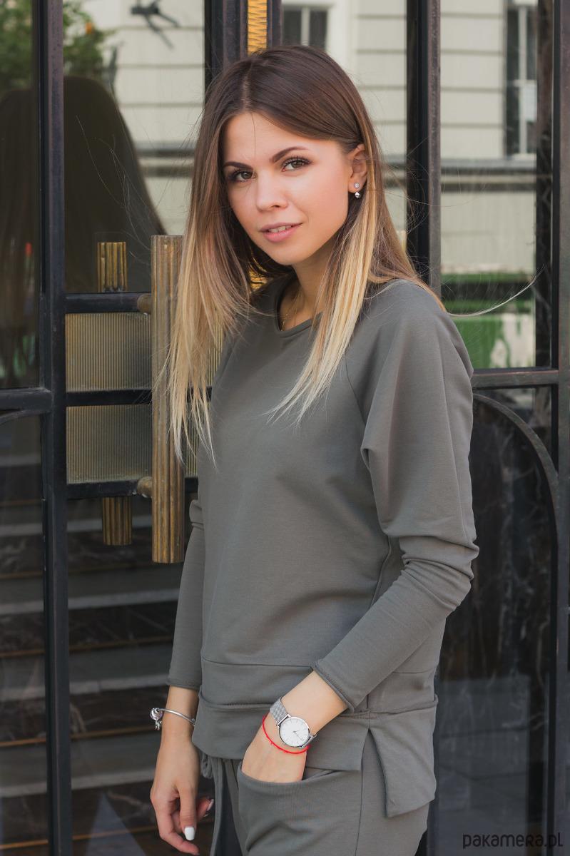 Bluzka damska Khaki