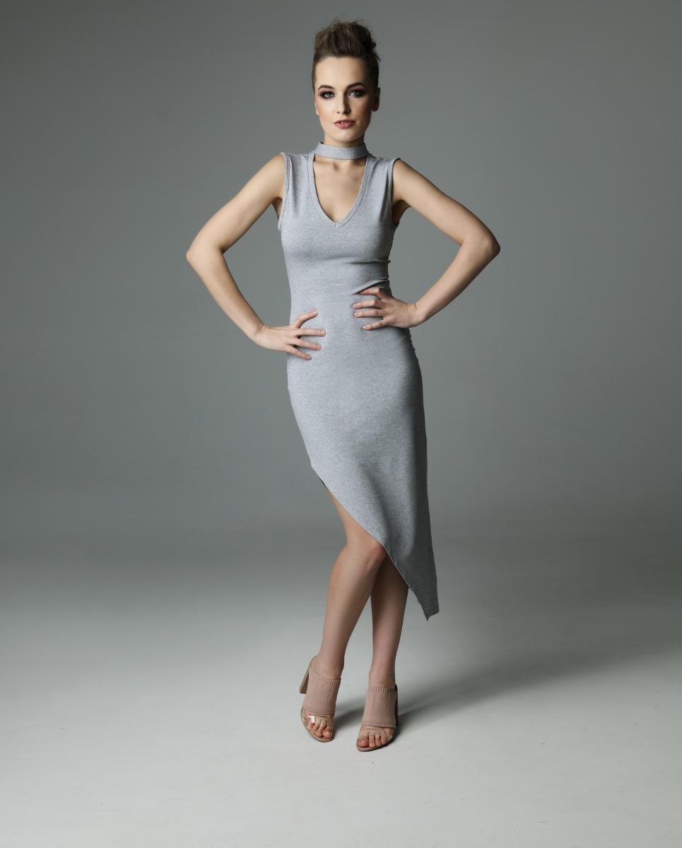 Sukienka Flirty Lottie - szara