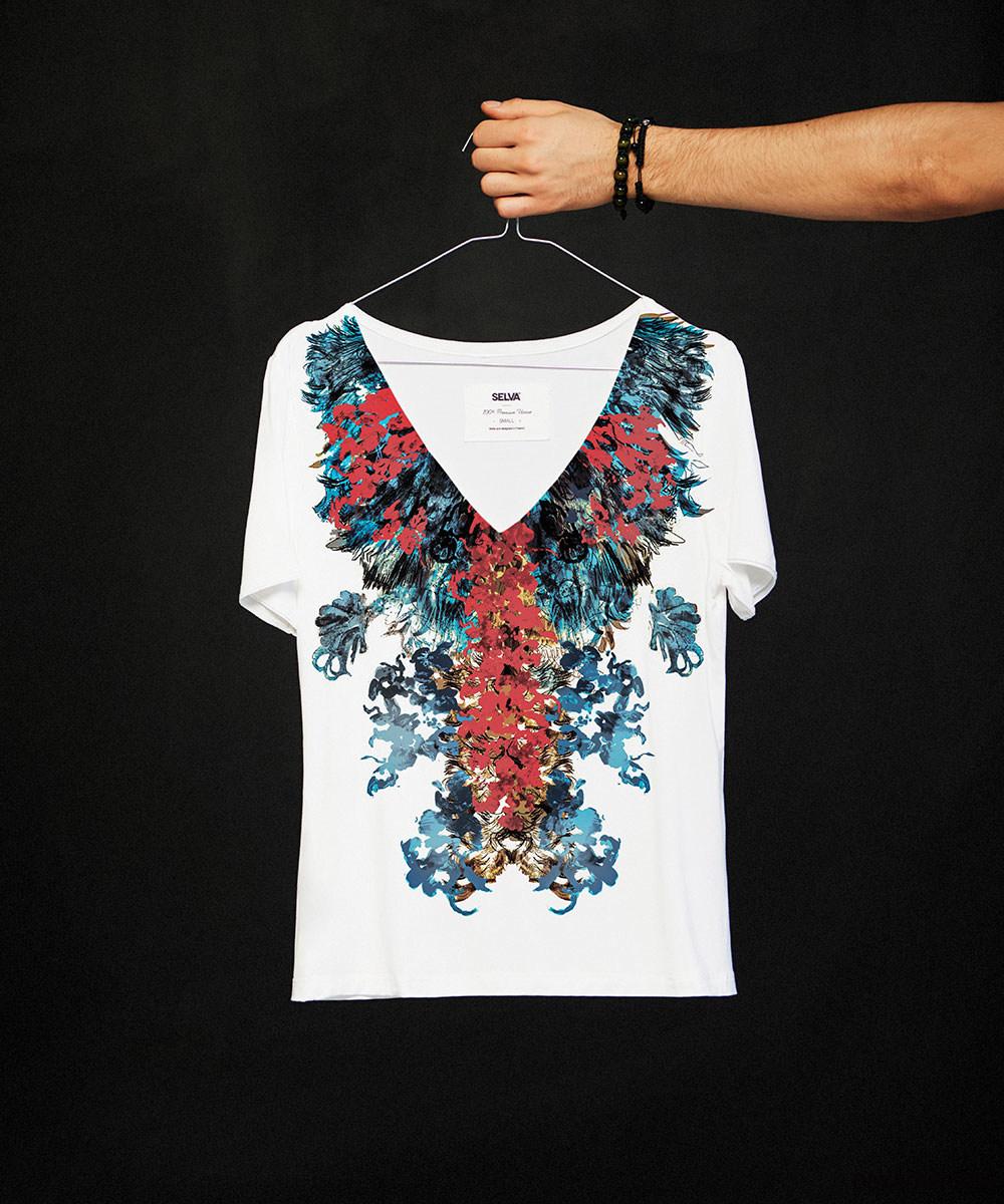 Iban no.2 T-shirt - SELVA