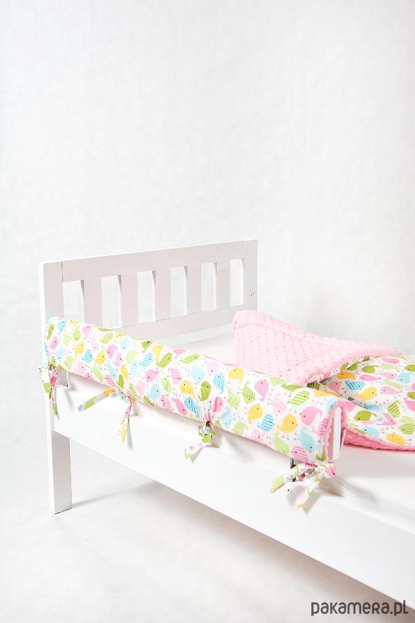 Ochraniacz Do łóżeczkałóżka Ikea Ptaszki Pakamerapl