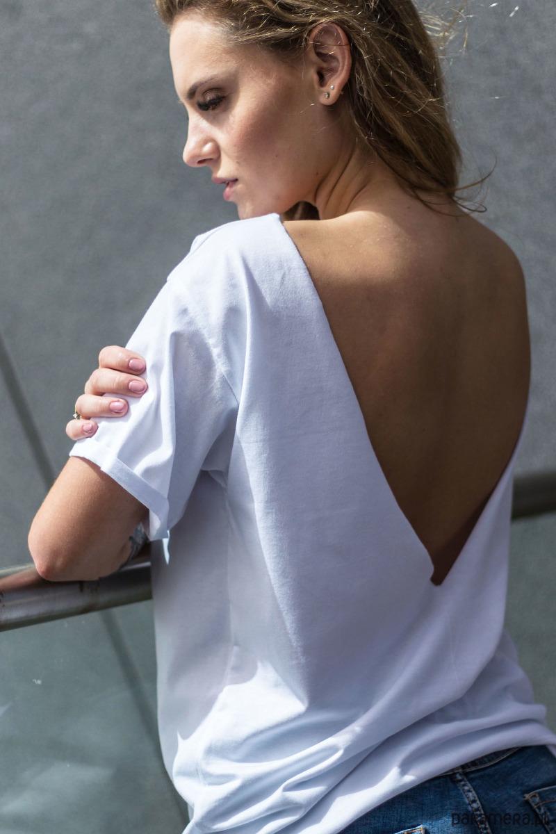 VOLVER WHITE Oversize t-shirt