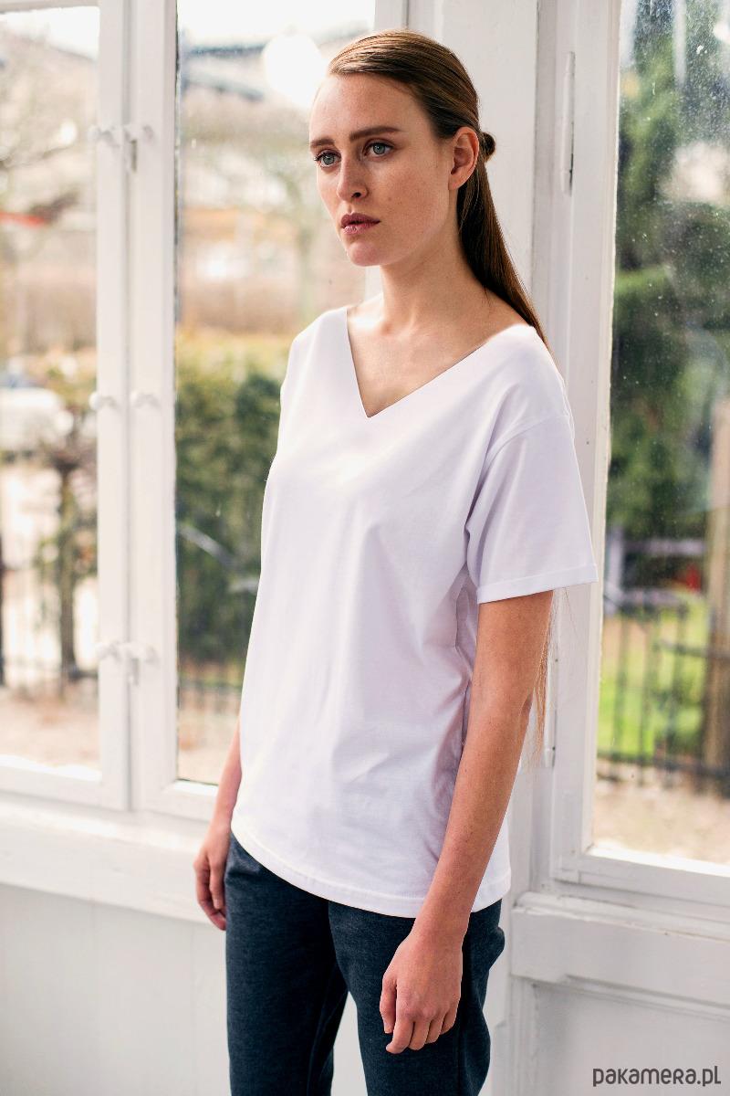 VALLEY WHITE Oversize t-shirt