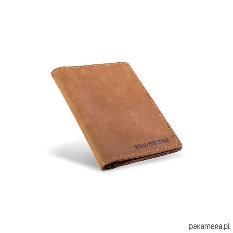 c6c50a727448b Jasno brązowy męski skórzany portfel męski - akcesoria - portfele ...