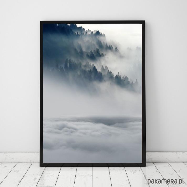 Plakat Las Góry Mgła Plakaty Pakamerapl