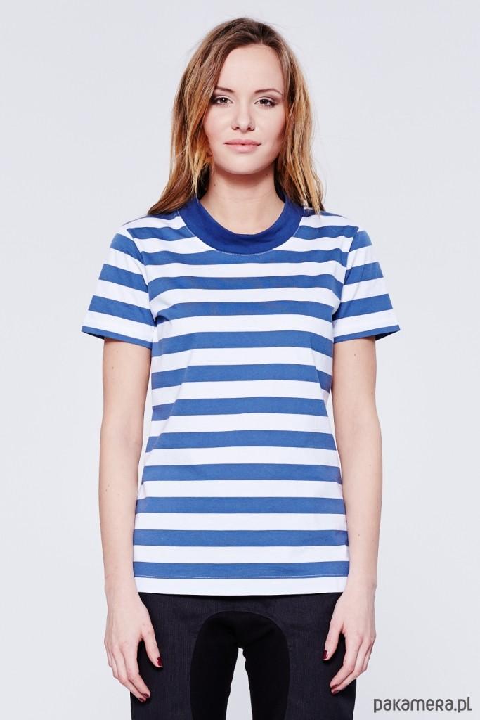 da6fcca1c70a0 T-shirt w paski - bluzki - t-shirty - damskie - Pakamera.pl