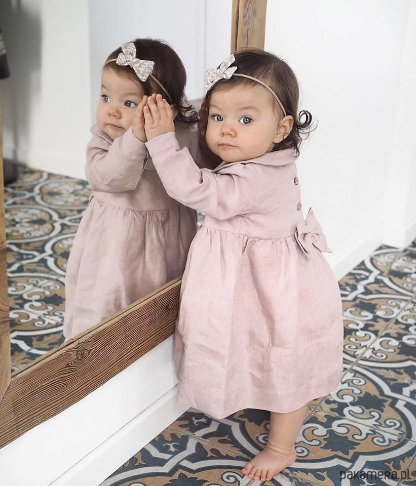 37ea5ee42d Sukienka lniana Little Susie - dziewczynka - sukienki - Pakamera.pl
