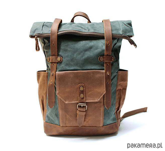 927e4ba19b8d0 P5 VINTAGE MARK I™ Plecak unisex płótno skóra - plecaki - Pakamera.pl