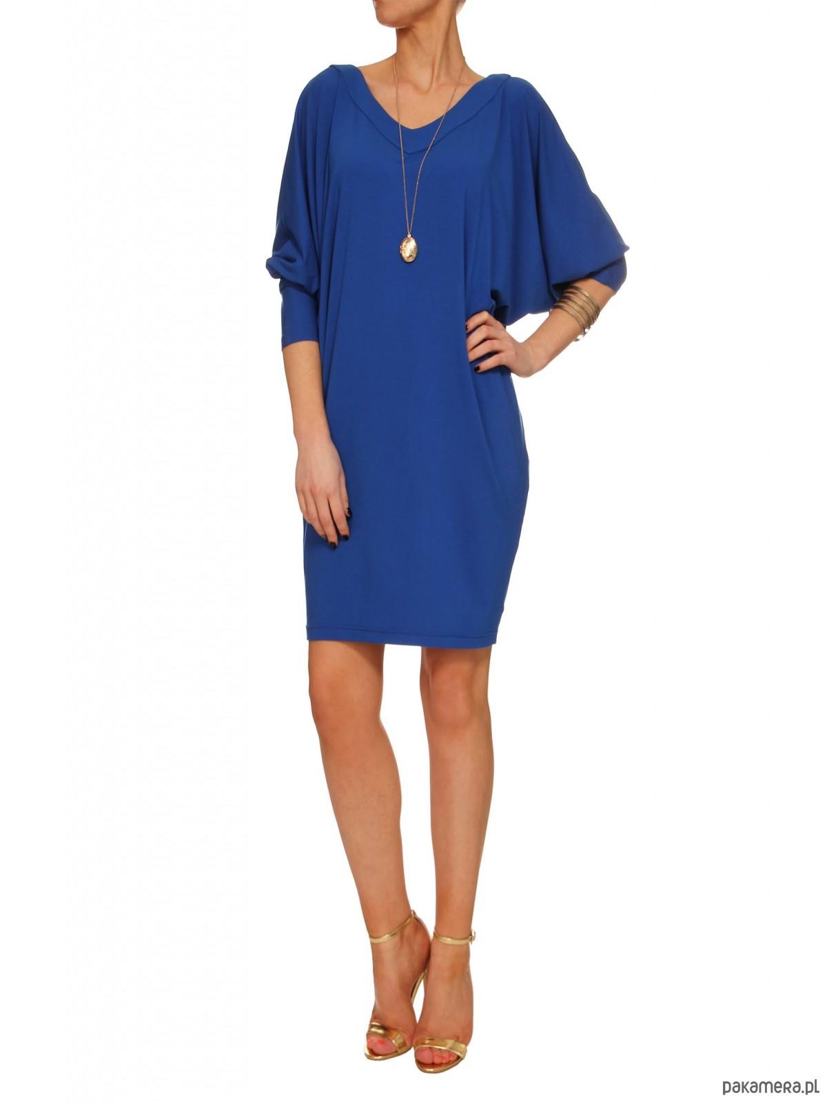 Sukienka niebieska YY100066_RAL5005