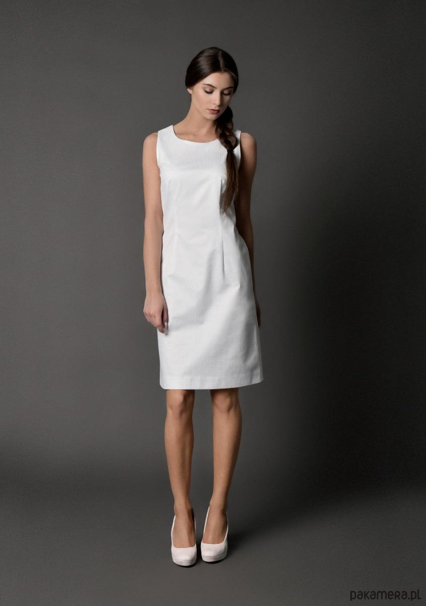 sukienka klasyczna - jedna sztuka S