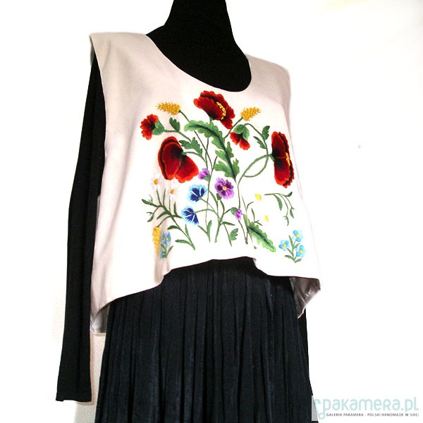 Embroidered Ethnic Vest (Art Embroidery)_2