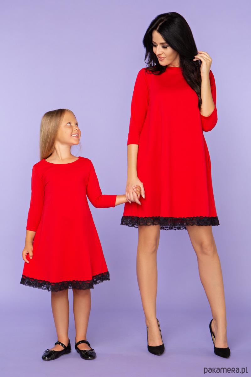 Komplet dla mamy i córki, sukienki, model 25_1