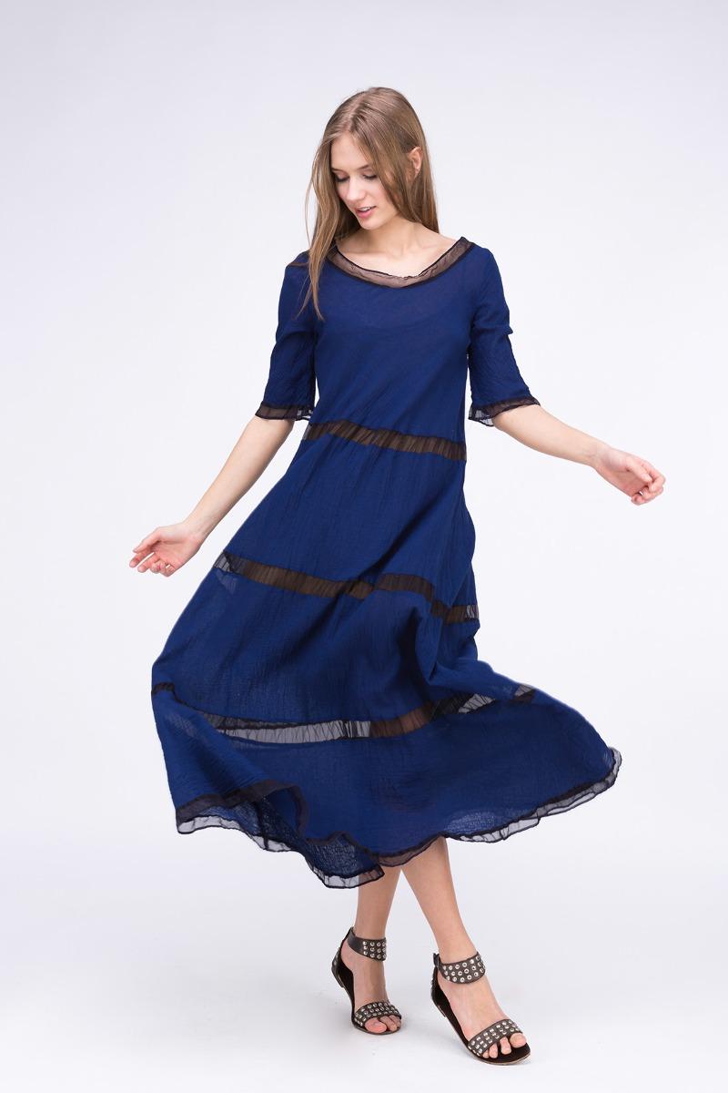 SukienkaPOULE LG Kobaltoa