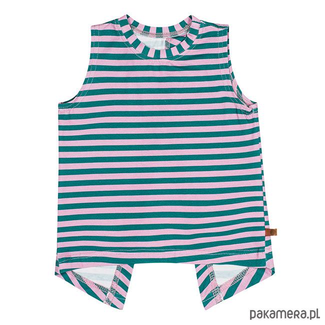 1af285b239 Top fruu - pink stripes - dziewczynka - bluzki - dziewczynka - Pakamera.pl