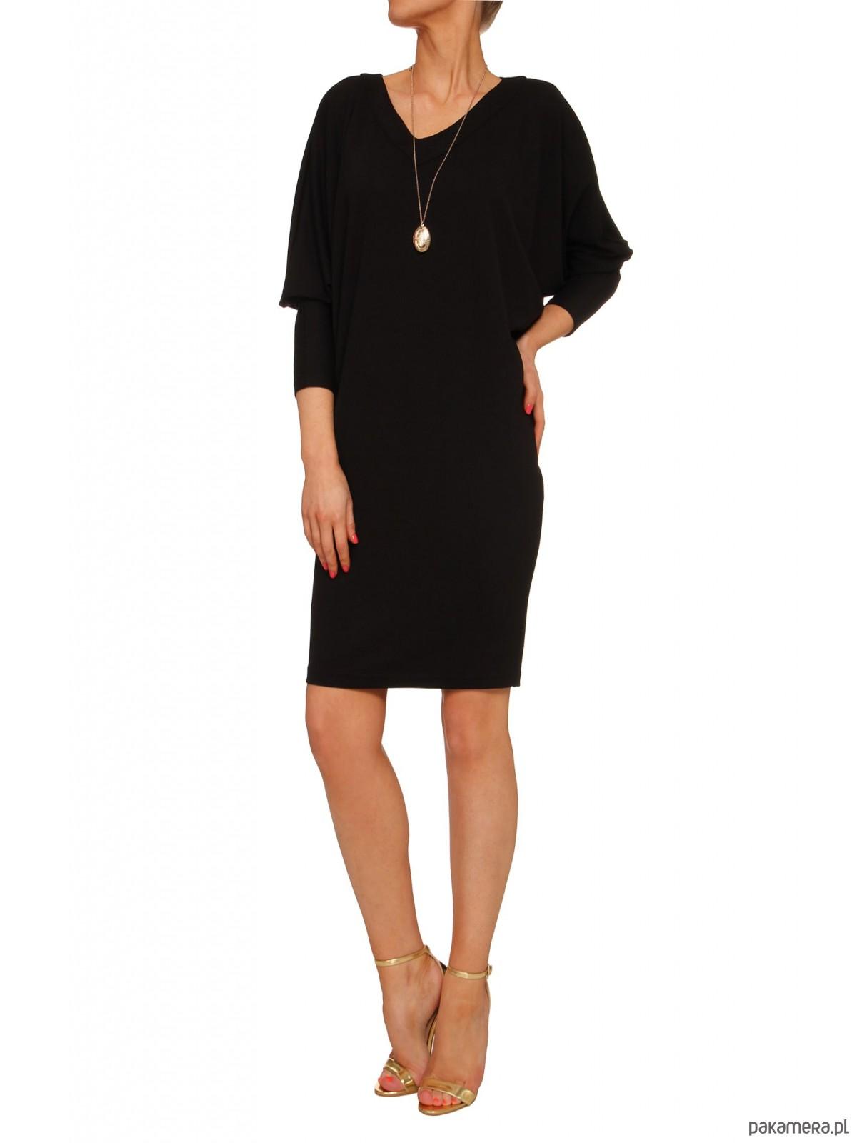 Sukienka czarna YY100066_RAL9005