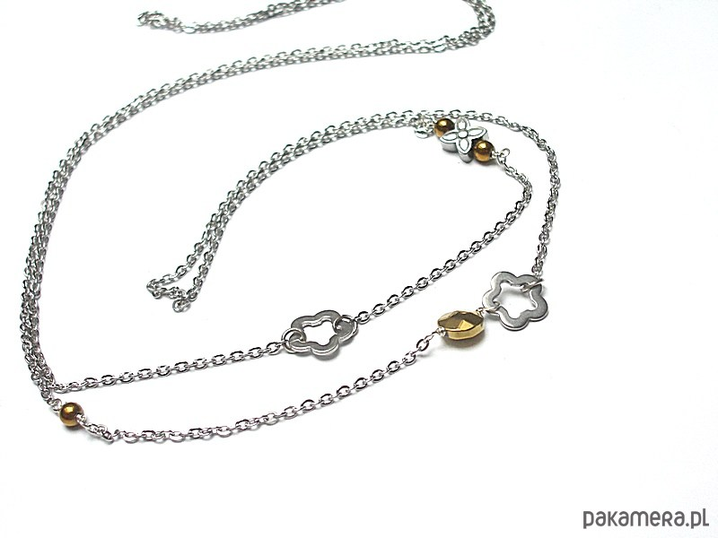 Alloys Collection - /flower/ naszyjnik - 2044185