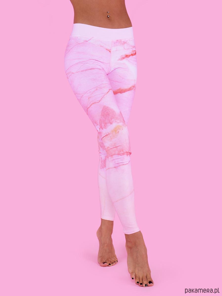 Legginsy Pink Marble