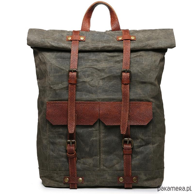 878b5ca9dfe62 P01 WAX VINTAGE™ plecak płótno wosk. - plecaki - Pakamera.pl
