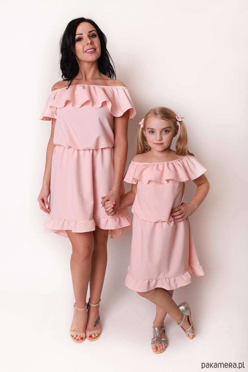 Sukienka Damska Mama i Córka LM42/3