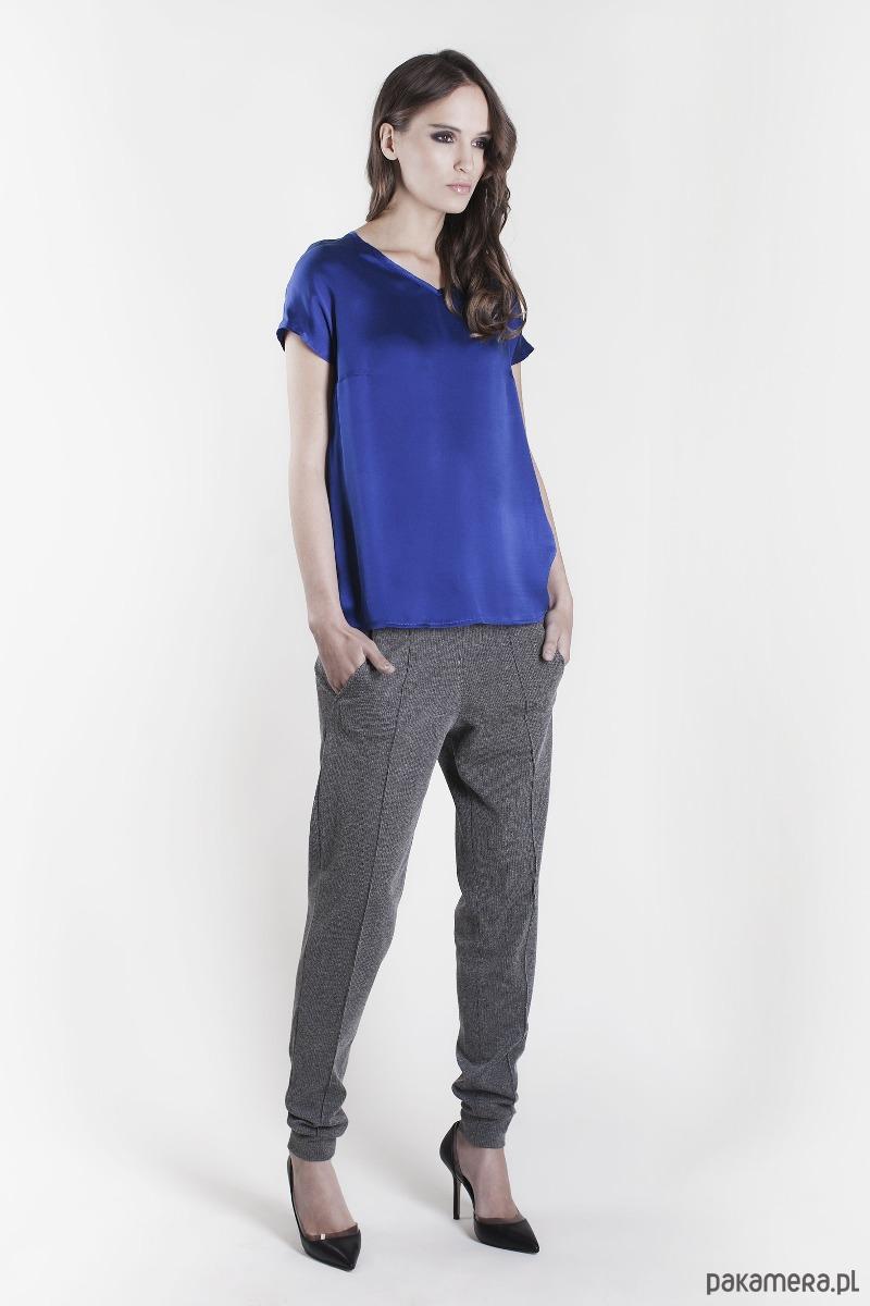 Koszulka HEMPE kobaltowa