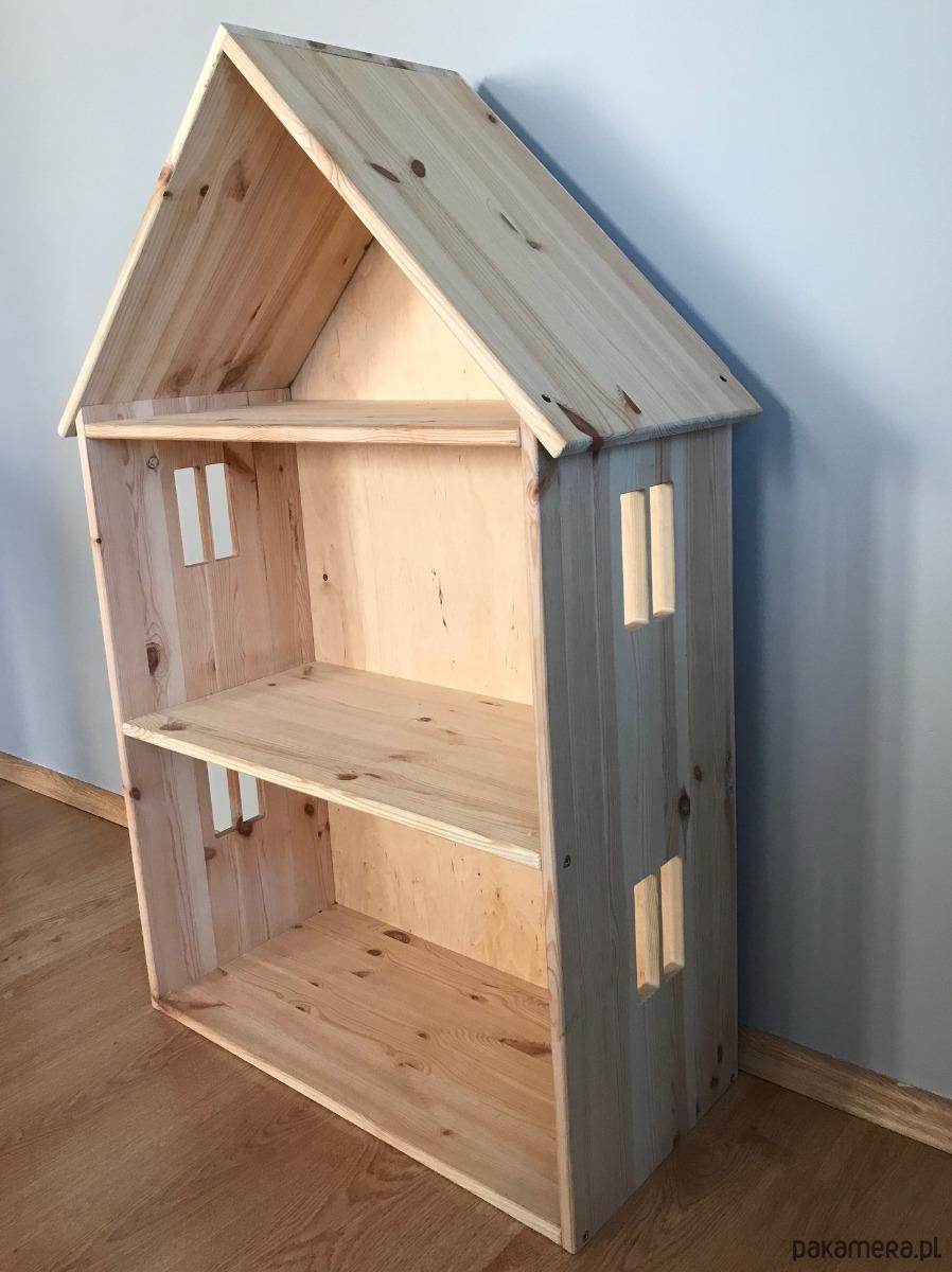 W superbly Drewniany domek dla lalek - zabawki - lalki - Pakamera.pl GM37