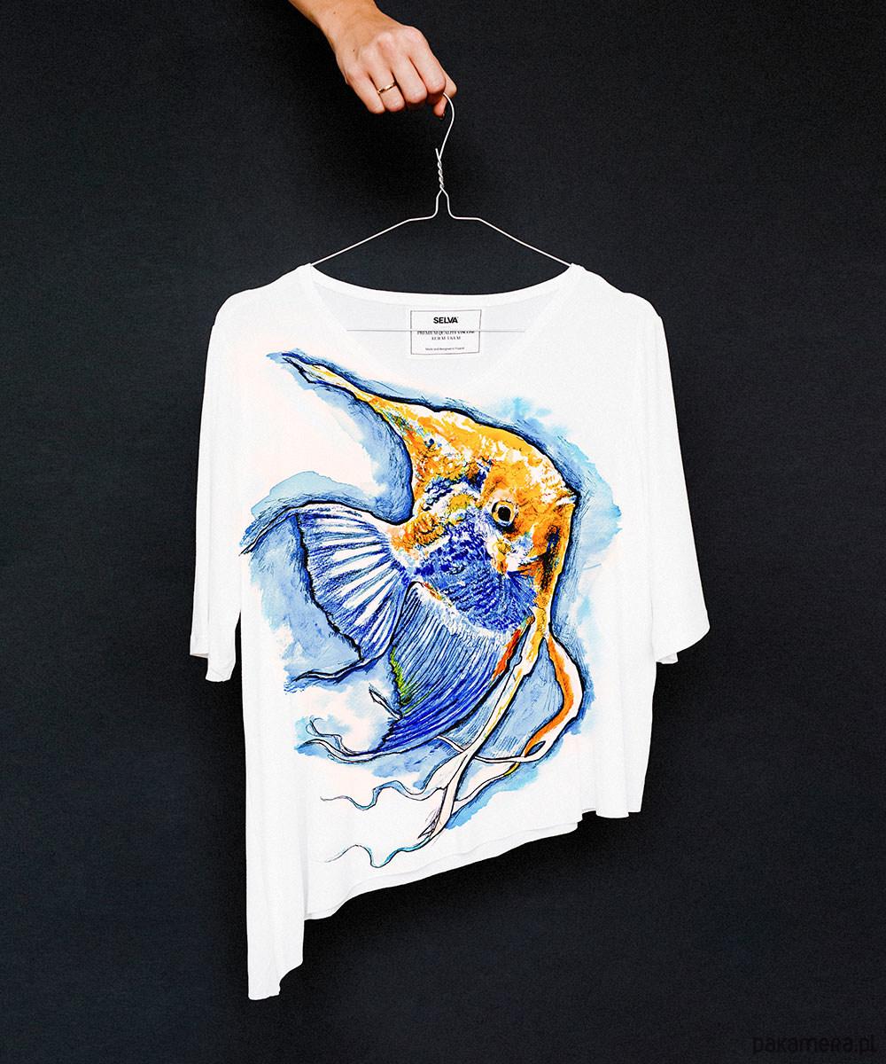 Pterophyllum t-shirt no.2 - SELVA
