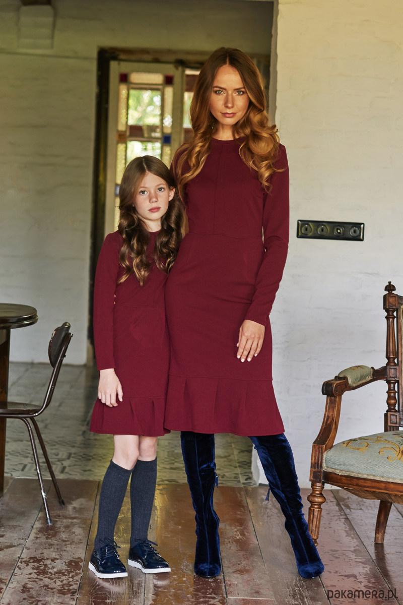 8c456df370 Sukienka w kolorze bordo - dziewczynka - sukienki - Pakamera.pl