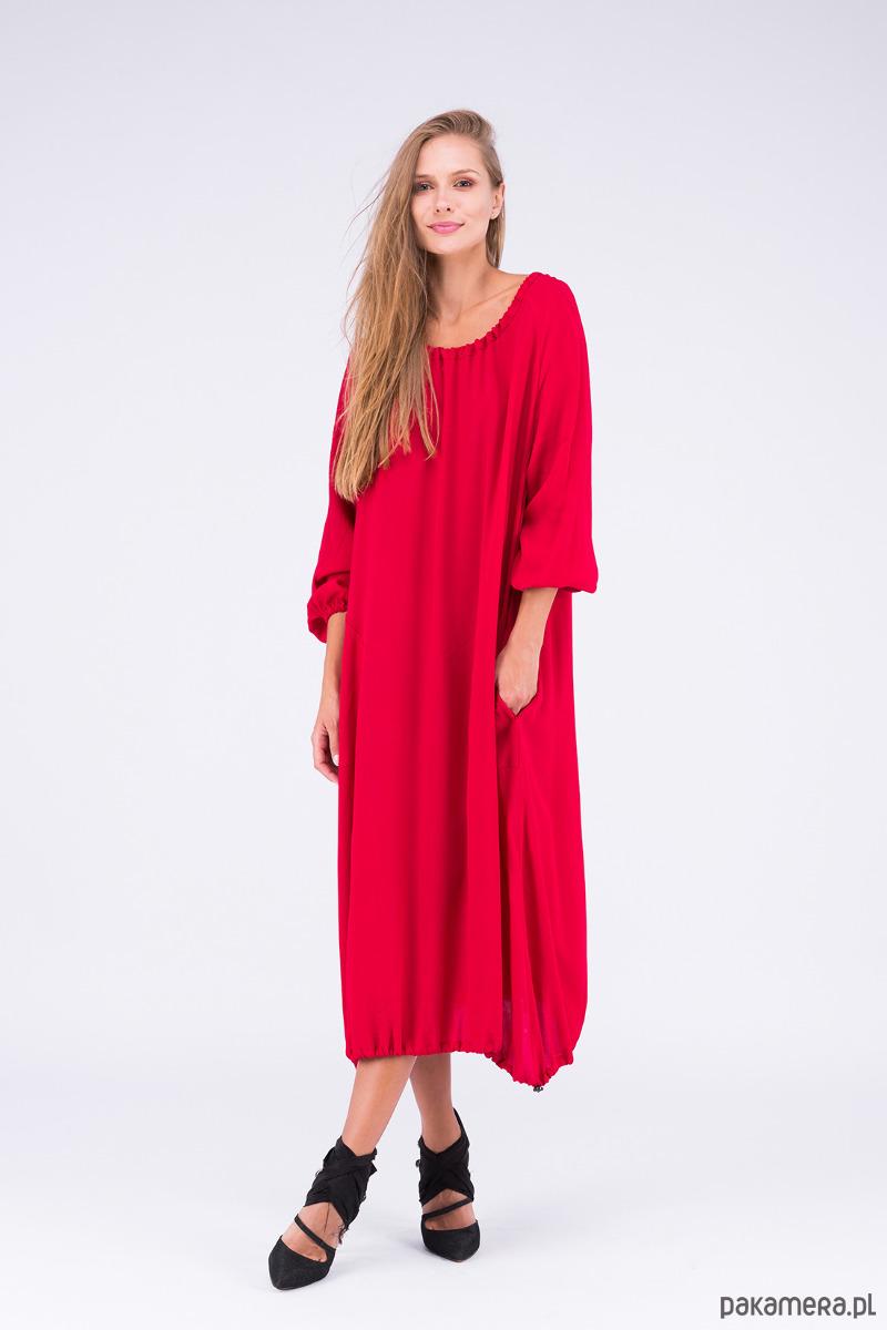 b7ecb06e82 Kupić.pl - Pakamera - 210-3 NICOLLE sukienka z dłuższym tyłem zielona