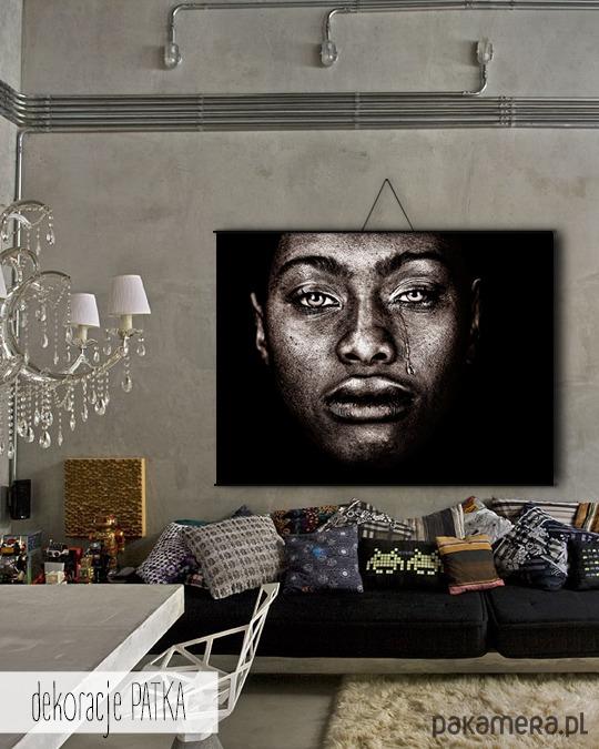 Afroamerykanka Dekoracje ścienne Pakamerapl