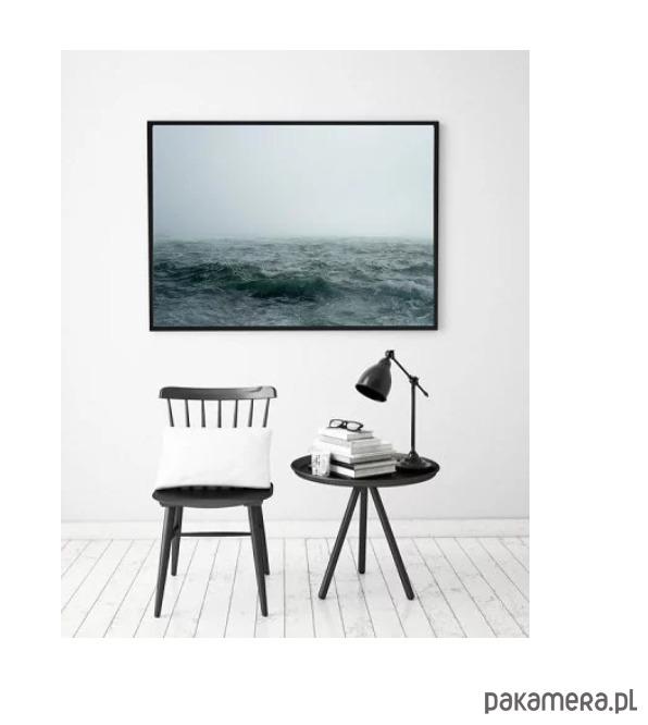 Plakat Morze Woda Fale Ocean Poster Pakamerapl