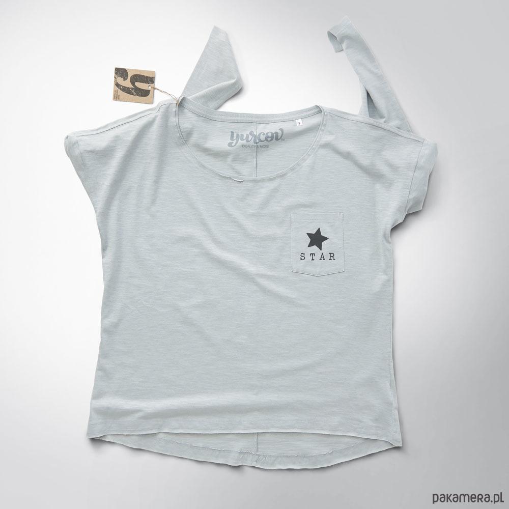 mini STAR bluzka damska z kieszonką