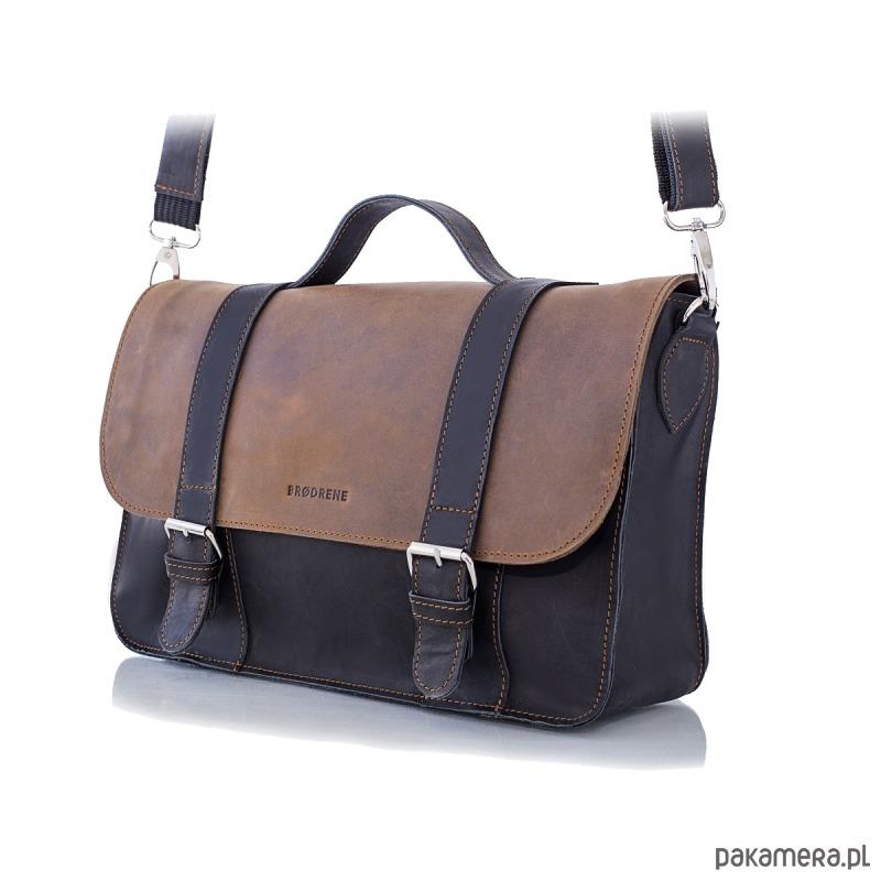948fd8864cc31 akcesoria - torby i nerki - męskie-Jasnobrązowa skórzana męska torba na  ramię