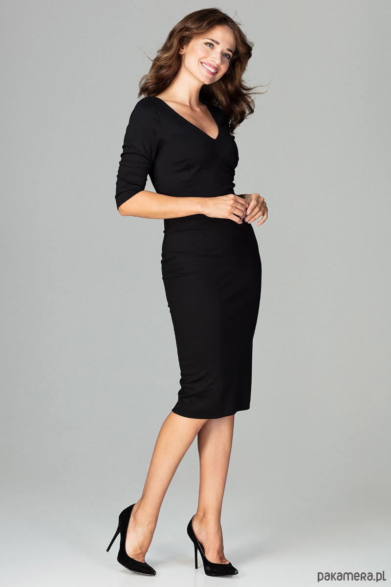 Sukienka K476 Czarny