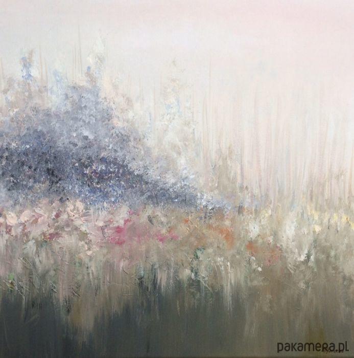 Obraz Farbami Akrylowymi Na Płótnie 50 X 50 Cm Malarstwo Pakamerapl