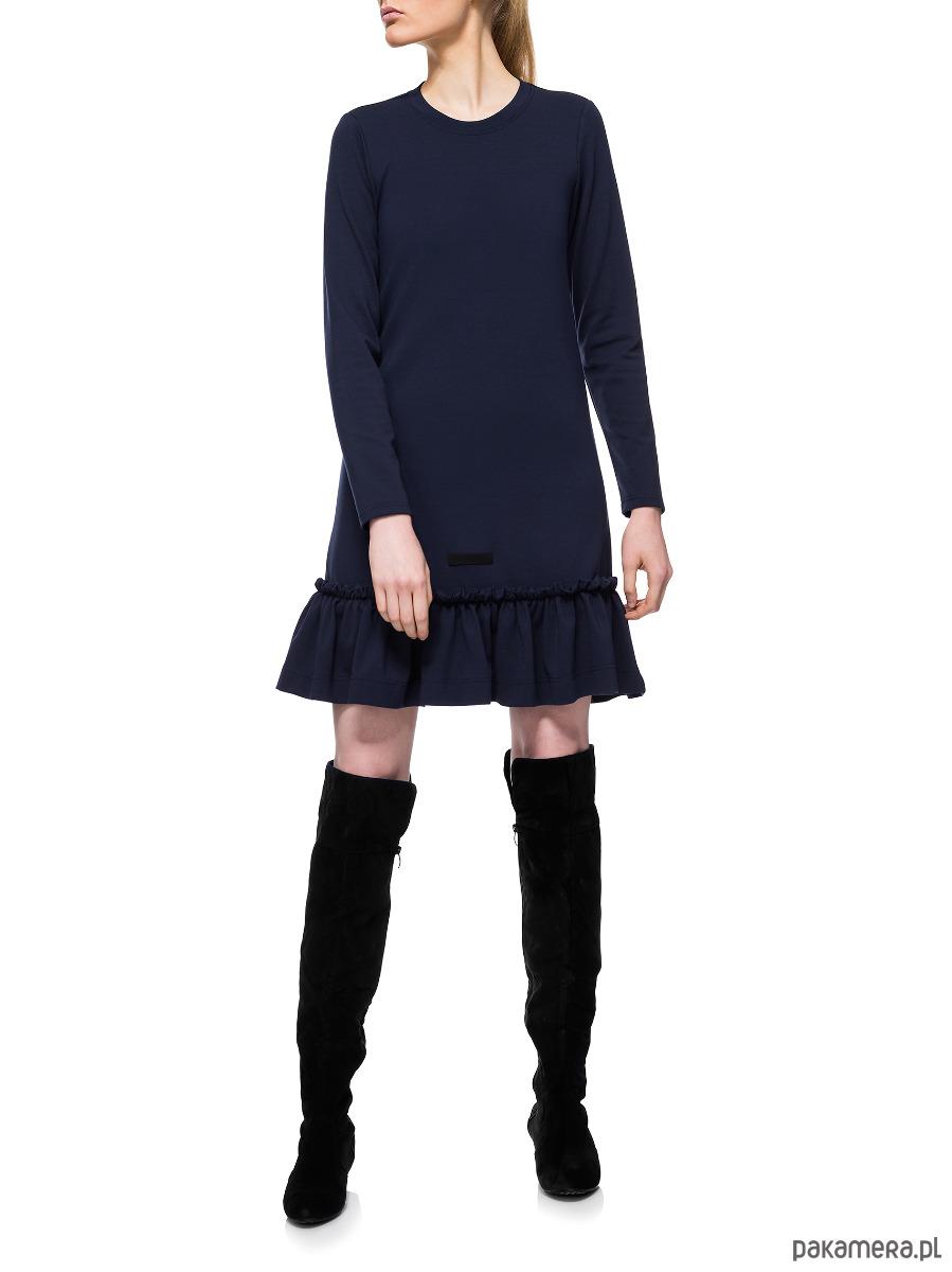 Sukienka granatowa YY200075_RAL5013