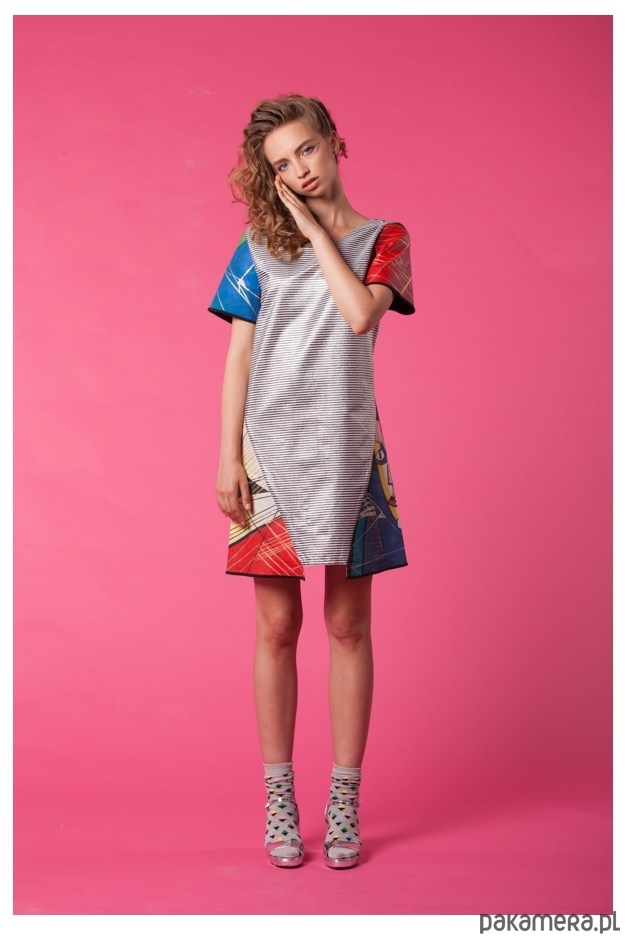 Sukienka Geometric Look