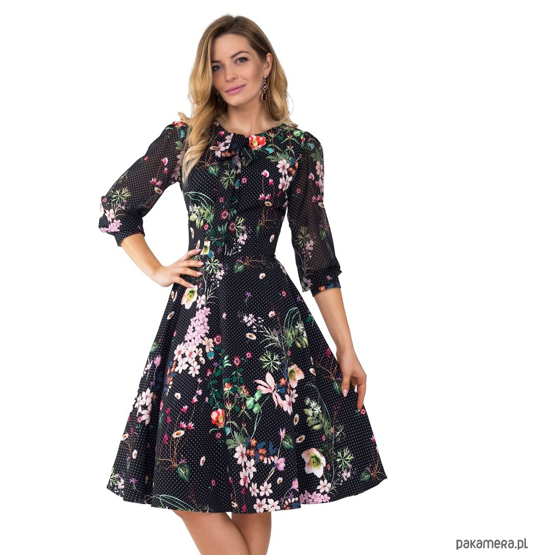 Sukienka EBONY Midi Aurelia