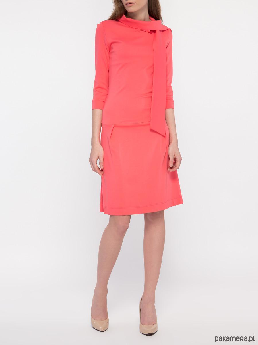 Sukienka koralowa YY200105_RAL3028