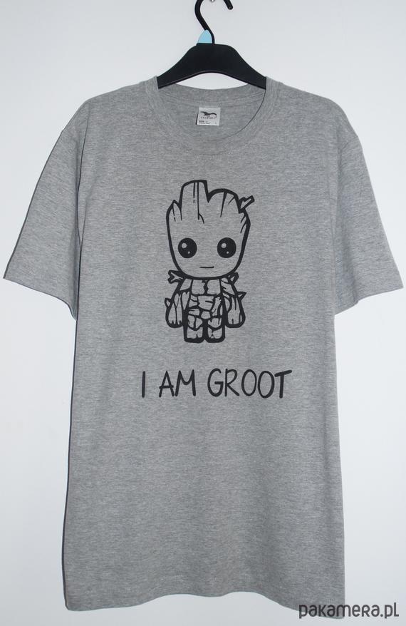 4ac7106ea męska koszulka baby groot - moda - t-shirty - męskie - Pakamera.pl