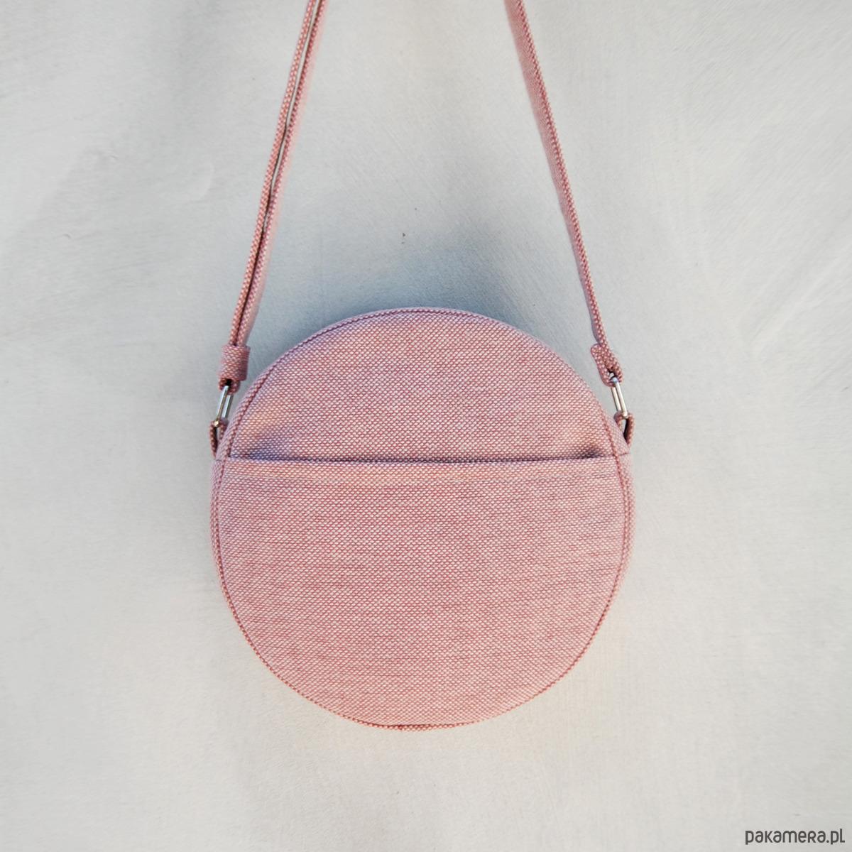 d557be43ad09f DOTTI - okrągła torebka - pudrowy róż - torby na ramię - damskie -  Pakamera.pl