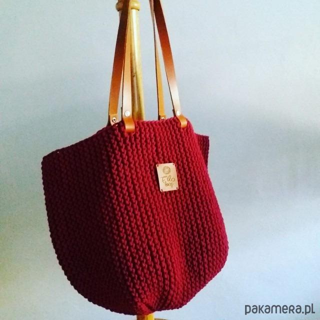 54aa6fa947357 Shopper Bag by Filo Loop - torby na zakupy - damskie - Pakamera.pl
