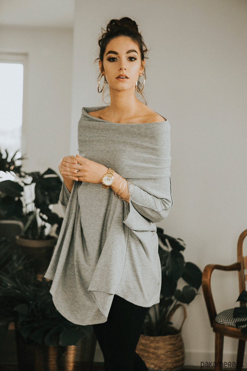 Tunika oversize Zingara grey
