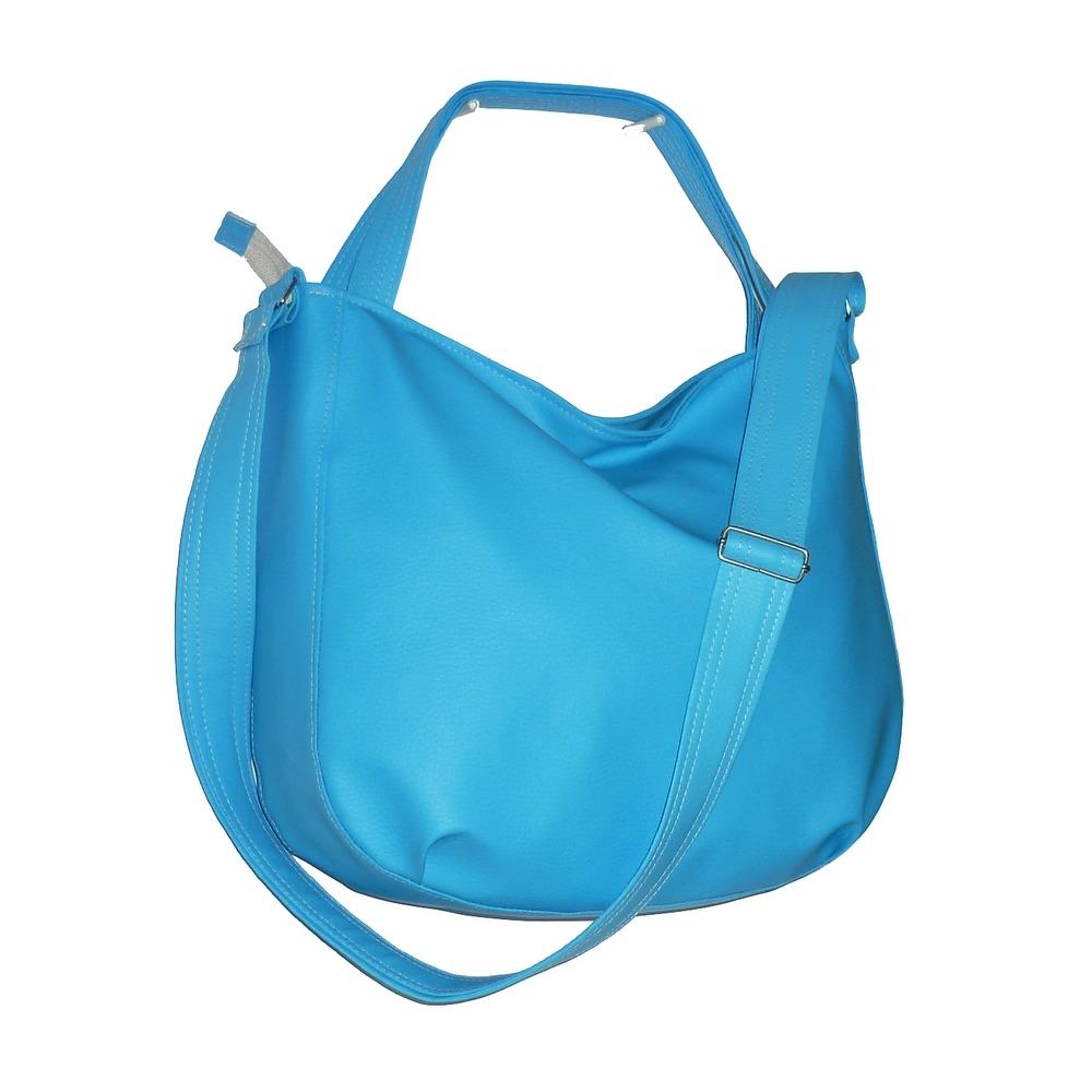 bd728a35842bb Błękitna torba 3w1, błękitna torba worek - torby na ramię - damskie ...