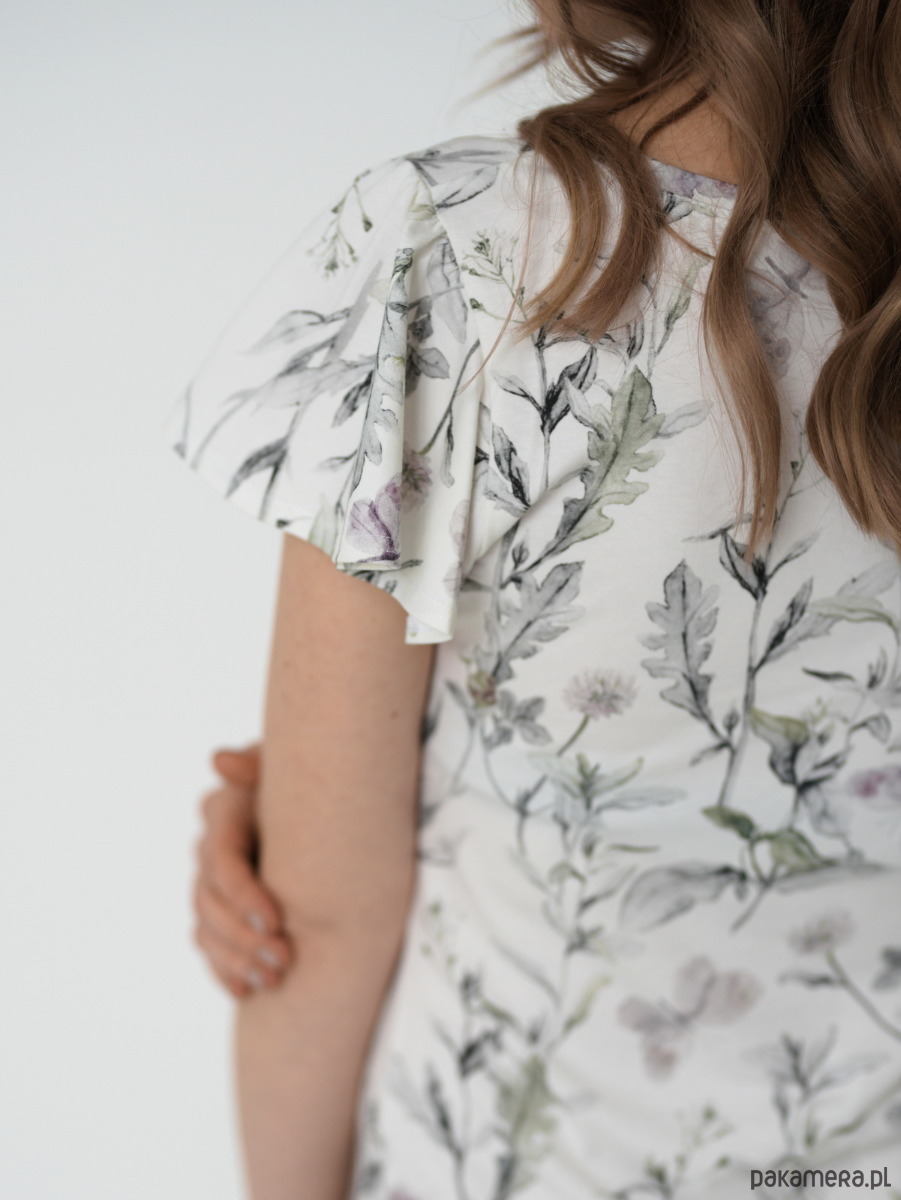 Koszula nocna Motyl | bawełna botanic