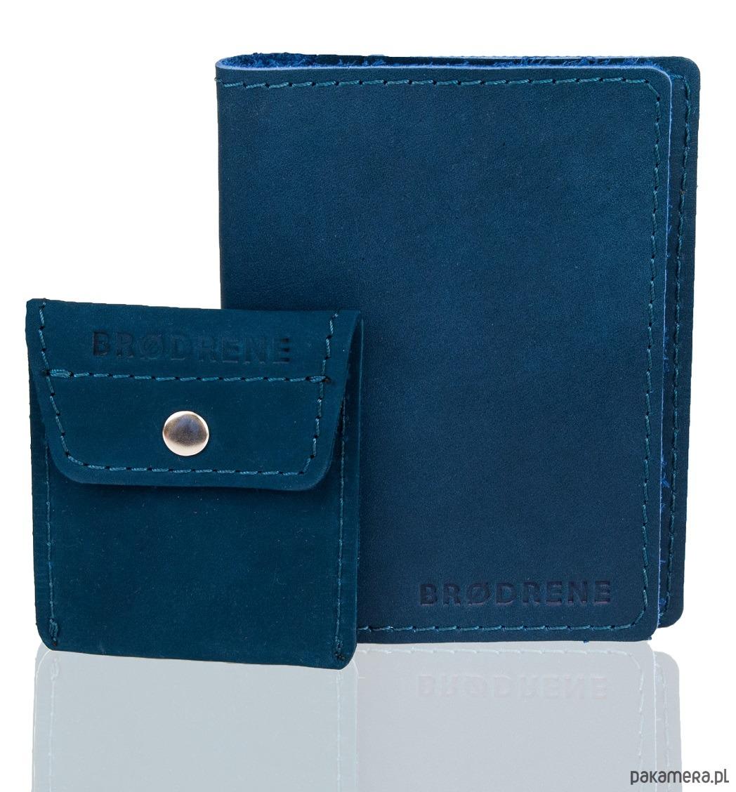 e1922f777b709 akcesoria - portfele-Skórzany portfel brodrene z bilonówka na monety