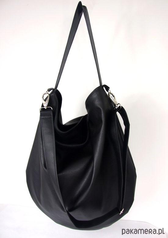 82c134954e081 Hobo czarna + PERSONALIZACJA - torby na ramię - damskie - Pakamera.pl