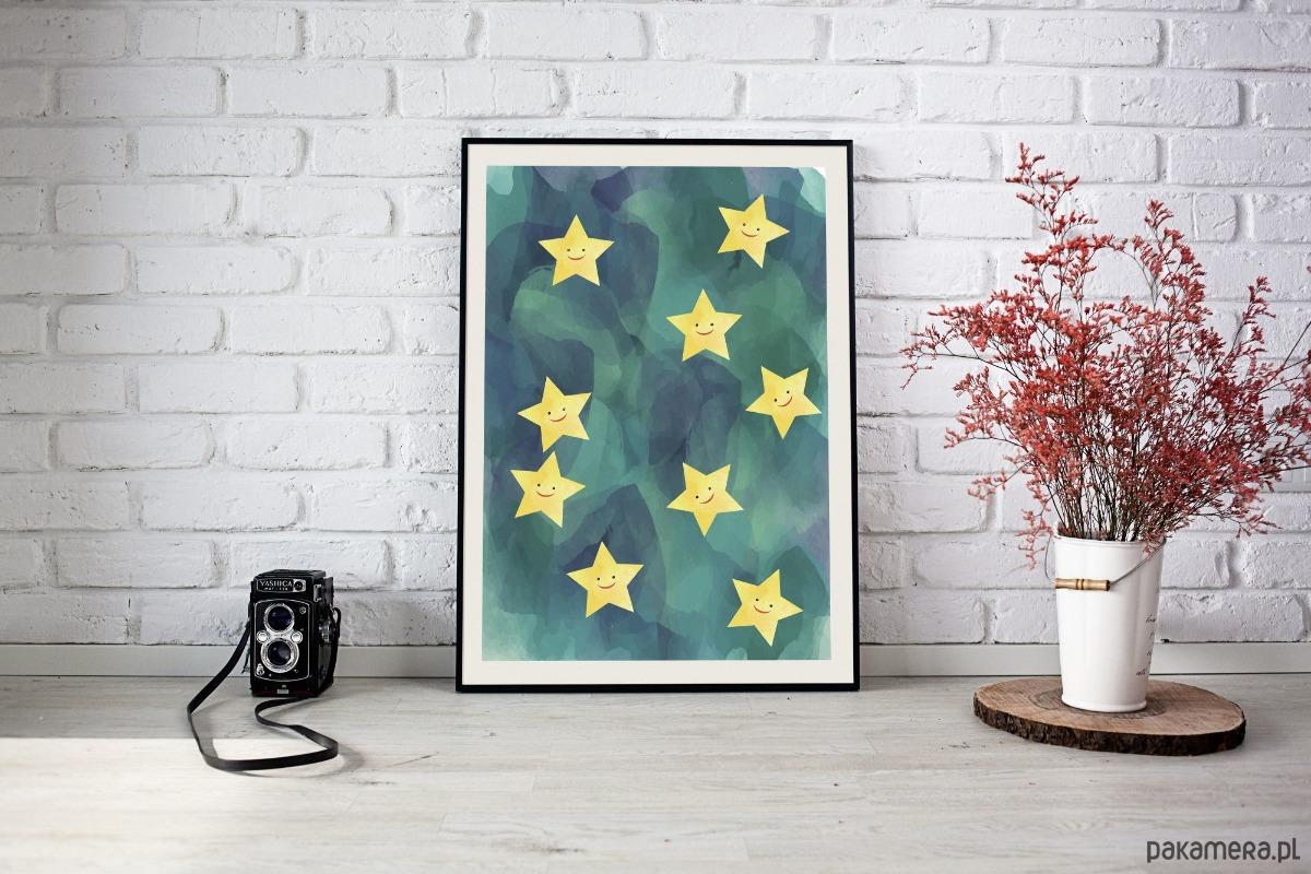 Gwiazdy Plakat Pakamerapl