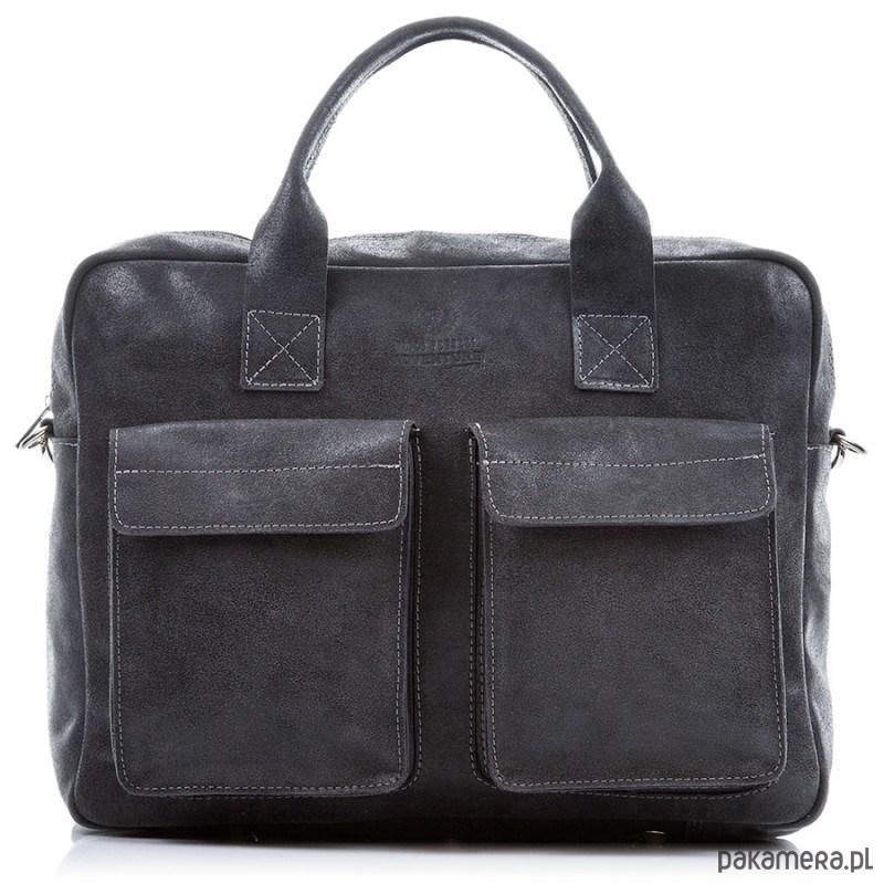 6053df26fcc95 akcesoria - torby i nerki - unisex-Skórzana torba męska Paolo Peruzzi  Vintage 222