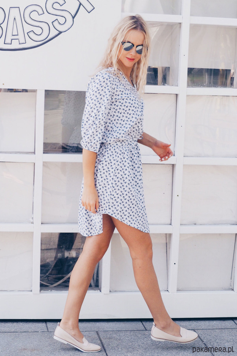 Sukienka Spring-biały