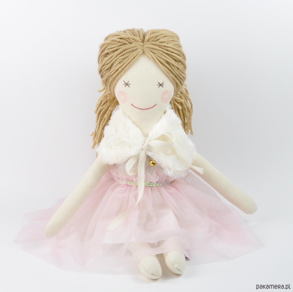 4dd0227749 zabawki - lalki-Lalka ręcznie szyta