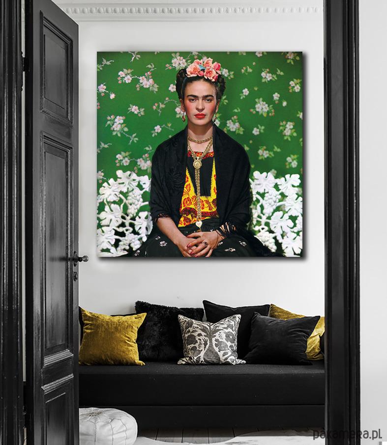 Frida Kahlo Dekoracja ścienna Pakamerapl